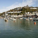 The picturesque Looe Harbour - just 3 miles from the park