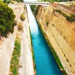Corinth channel