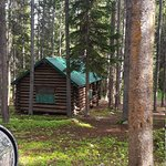 Old cabins offer rustic charm...