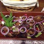 Очень вкусно приготовленное мясо