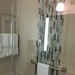 Beautiful, spacious walkin shower