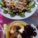 Photo of Aspri Avli Garden Restaurant
