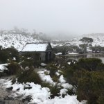 Cradle Mountain Wilderness village and Dove lake