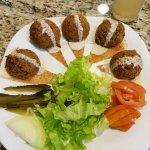Falafel no Restaurante Sham - Curitiba
