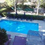 abords de la piscine (non chauffée)