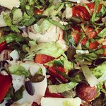 Yummy salad close up!