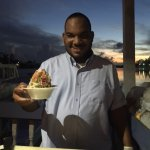 Delicious conch salad made right in front of you.