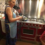 Cooking class with Nonna Ciana is a must while staying Tuscany. She gave us a great hands-on cul