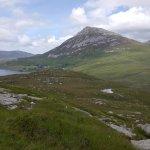 """Mt. Errigal from the """"Poisoned Glen"""""""