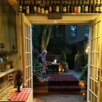 The back deck.....