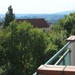 Blick vom Balkon Richtung Krems