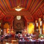 Naniboujou's historic dining room.