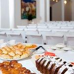 Salon de eventos y conferencias para reuniones ejecutivas o conferencias corporativas