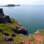 Worms Head.......can be accessed for only a few hours per day due to tides
