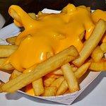 Cheesy fries....really good!