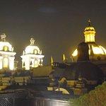 Parte del centro histórico de Lima