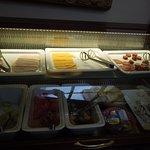 colazione con salato vario