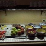 colazione con frutta di stagione