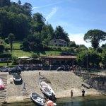 Restaurant and boat slipway