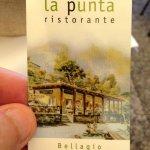 Photo de Ristorante La Punta