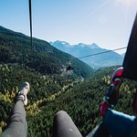 Ziplining in Whistler Photo by Superfly