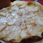 Pizza quatre fromages....