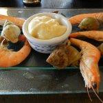 Entrée bulots crevettes