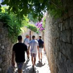Caveat Street with our guide, Goran