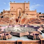Place for Musical Fountain and Water Show at Akshardham, New Delhi