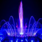 Musical Fountain and Water Show at Swaminarayan Akshardham Temple, New Delhi