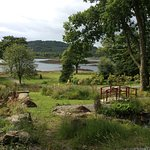 Gardens overlooking loch