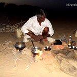 Meal in the desert