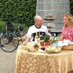 Farm-to-table lunch at Brander Winery