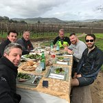 Farm-to-table lunch at LaFond Winery
