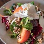 Summer Peach & Beet Salad