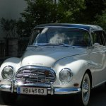 vintage car in Zell am See