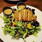 Pecan-crusted chicken salad...very good!