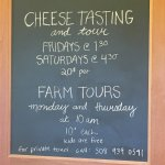 Beautiful farm, excellent cheese making tour, and yummy cheese!  The farm stand has produce, mea