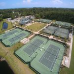 Beautiful, public facility!!  8 hard courts and 2 clay. Friendly staff and wonderful clinic sche