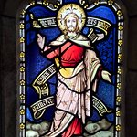 Beautiful Colours in the Stained Glass