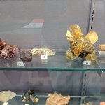 A few of the minerals on display.