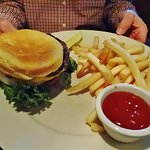 Chop House Steakburger with fries.