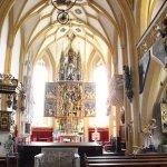 inside the Church of Heiligenblut