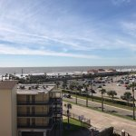 view toward the Gulf from room balcony