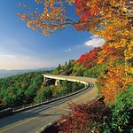 We are located approximately 2 miles off the Blue Ridge Parkway