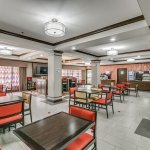 Holiday Inn Express & Suites Lubbock South Breakfast and Common Area