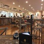 Inside Greenhill Winery's Tasting Room.