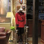 RCMP uniform in bar area