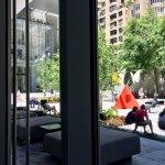A view to the Modern's sculpture garden