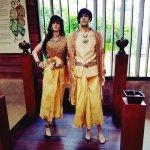 Khmer style garments